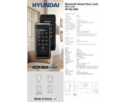 HYUNDAI HY-SL1002S SMART LOCK W/BLE - 102-82-102-82-HSL11B-1