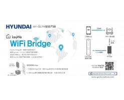 Hyundai-Keywe Wifi Bridge Smart Lock Accessories Electronic Door Lock Support IOS Andriod - 102-82-KEYWEB-1