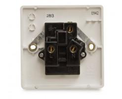 FYM-13A 1 Gang Socket Outlet(White)-Elegance Category-2813#