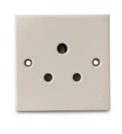 FYM-15A 1 Gang Socket Outlet(White)-Elegance Category - 2815#