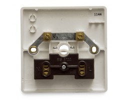 FYM-25A Connection Unit (Front Outlet)(White)-Elegance Category-2825#