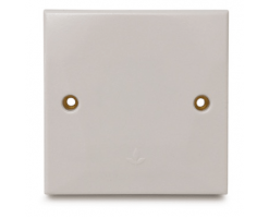 FYM-25A Connection Unit (Side Outlet)(White)-Elegance Category-2825-B#