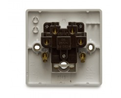 FYM-13A Fused Connection Unit With Front Flex Outlet(White)-Elegance Category-2860#