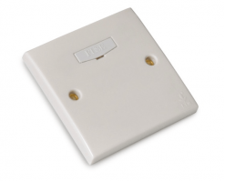 FYM-13A Fused Connection Unit(White)-Elegance Category-2863#