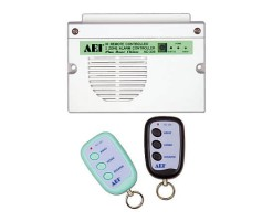 APO/AEI Infrared remote control, 2-zone small anti-theft control device with doorbell - AC-339