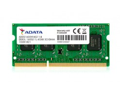 ADATA Premier 4GB 1600Mhz DDR3L RAM Memory Module for Notebooks and Laptops - ADDS1600W4G11-R
