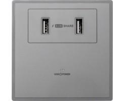 M2K 4.2A USB Wall socket (2 USB)  - AP102MF-G