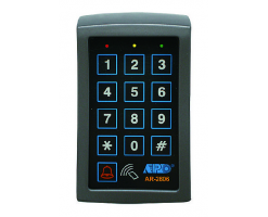 APO/AEI AUXILIARY KEYPAD WITH CARD READER FOR SYSTEM EXPANSION - AR-2806