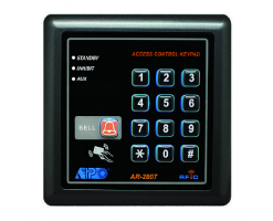 APO/AEI AUXILIARY KEYPAD WITH CARD READER FOR SYSTEM EXPANSION - AR-2807