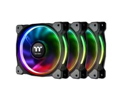 Thermaltake Riing Plus 12 RGB Radiator Fan TT Premium Edition (3 Fan Pack) -  CL-F053-PL12SW-A