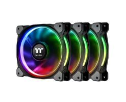 Thermaltake Riing Plus 14 RGB Radiator Fan TT Premium Edition (3 Fan Pack) - CL-F056-PL14SW-A
