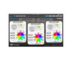 Thermaltake Pure Plus 14 RGB Radiator Fan TT Premium Edition (3-Fan Pack) - CL-F064-PL14SW-A