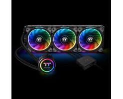 Thermaltake Floe AIO Triple Riing RGB 360 TT Premium Edition PWM AM4 LGA2066 Ready Liquid Cooling System/fan - CL-W158-PL12SW-A