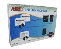 APO/AEI Wireless remote keypad and receiver kit combination includes 2 DA-12 remotes - DK-2310+DA-2311