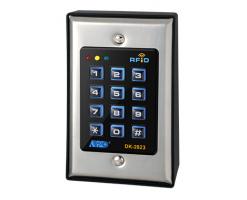 APO/AEI DK-2823A/B - MK-II : THREE OUTPUT FULL FEATURE TRI-TECH KEYPAD WITH CARD READER - DK-2823