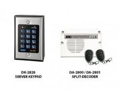 APO/AEI DK-2828SS (DK-2828S + DA-2801) Set combination full function 3 groups relay output EM card + password keyboard - DK-2828SS