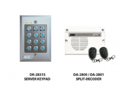 APO/AEI  (DK-2831S + DA-2801) Set combination full function 3 sets of relay output password keyboard - DK-2831SS