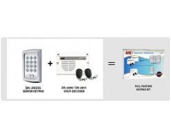 APO/AEI  (DK-2835S + DA-2800) Set combination full function 3 groups relay output password keyboard + wireless remote control - DK-2835SA