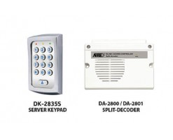 APO/AEI (DK-2835S + DA-2801) Set combination full function 3 sets of relay output password keyboard - DK-2835SS