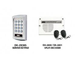 APO/AEI  (DK-2836S + DA-2800) Set combination full function 3 groups relay output password keyboard + wireless remote control - DK-2836SA