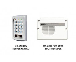 APO/AEI  (DK-2836S + DA-2801) Set combination full function 3 sets of relay output password keyboard - DK-2836SS