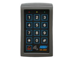 APO/AEI DK-2861 - MK-II : SINGLE OUTPUT TRI-TECH KEYPAD WITH CARD READER - DK-2861