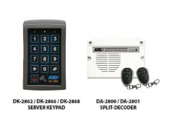 APO/AEI DK-2862SS (DK-2862S + DA-2801) Set combination full function 3 groups relay output EM card + password keyboard - DK-2862SS
