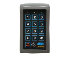 APO/AEI DK-2865 - MK-II : SINGLE OUTPUT TRI-TECH KEYPAD WITH CARD READER - DK-2865