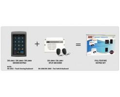 APO/AEI (DK-2866S + DA-2801) Set combination full function 3 groups relay output EM card + password keyboard - DK-2866SS