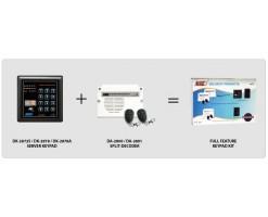 APO/AEI (DK-2872S + DA-2801) Set combination full function 3 groups relay output EM card + password keyboard - DK-2872SS