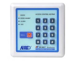 APO/AEI Full-function, 2 + 1 relay output, waterproof, keypad with illuminated password - DK-9827