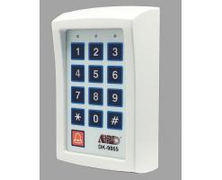 APO/AEI DK-9865 MK-II : SINGLE OUTPUT ACCESS CONTROL KEYPAD (black /White) - DK-9865