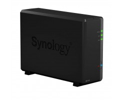 Synology High-performance 1-bay NAS for small office and home users - DS118