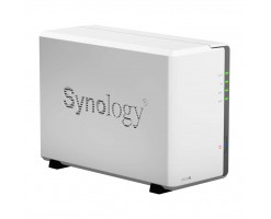 Synology A versatile entry-level 2-bay NAS for home and personal cloud storage - DS218j