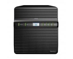 Synology DiskStation Four Hard Drive Bay Desktop NAS - DS420j
