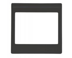 FYM-Black Colour Surround-Floating Snow Series Unit Decorative Frame/Panel-F27001BK