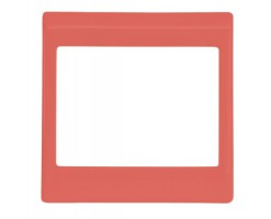 FYM-Red Colour Surround-Floating Snow Series Unit Decorative Frame/ Panel-F27001RD