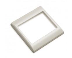 FYM-White Colour Surround -Floating Snow Series Unit Decorative Frame/Panel-F27001WE