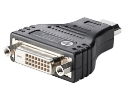 HP HDMI to DVI Adapter/Audio and Video Cables-F5A28AA