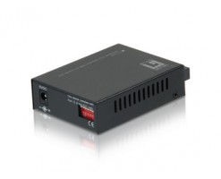 Level One RJ45 to SC Fast Ethernet Media Converter, Multi-Mode Fiber, 2km - FVT-2001
