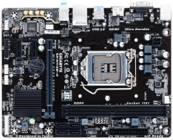 GIGABYTE motherboards support the latest 6th Generation Intel® Core™ processors  - GA-H110M-H