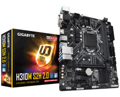 GIGABYTE Intel H310 Ultra Durable motherboard - GA-H310M S2H 2.0