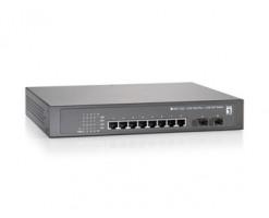 Level One 10 GE PoE-Plus + 2 GE SFP Switch, 150W - GEP-1020