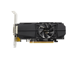 GIGABYTE GeForce® GTX 1050 OC Low Profile 2G graphics card - GV-N1050OC-2GL