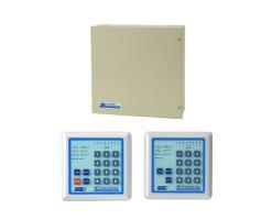 APO/AEI 8 zone anti-theft control box built-in voice alarm telephone dialer  (Split password keyboard control, built-in fire cow) - HA-268-T