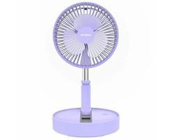 HYUNDAI wireless folding fan (purple) - HYUNDAI HY-F09 USB(紫色)