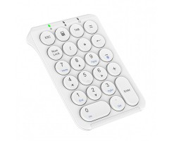 iClever Portable bluetooth numeric keyboard (white) - IC-KP08黑色/白色 藍牙