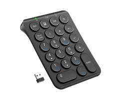 iClever Portable wireless 2.4G numeric keypad (black) - IC-KP09黑色/白色 2.4G