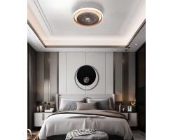 Framtida 19 inches Fan Light/Ceiling Fan Light(Matt Champagne Gold) - FR-Jupiter