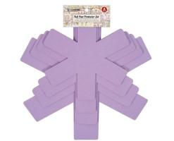 LE ANTOINE 4-Piece Protective Clay Pad - Pink purple